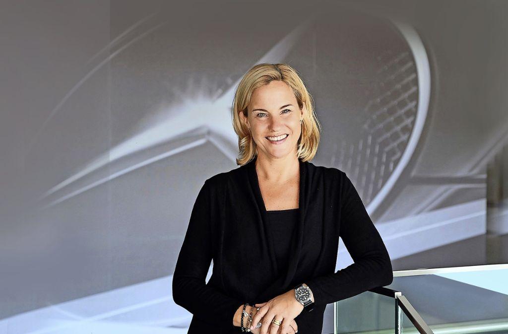 Britta Seeger ist seit  einem Jahr im Daimler-Vorstand und Vertriebschefin der Daimler-Autosparte Mercedes-Benz Cars. Foto: Daimler AG