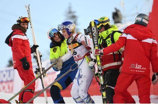 Lindsey Vonn bei Ski-WM schwer gestürzt