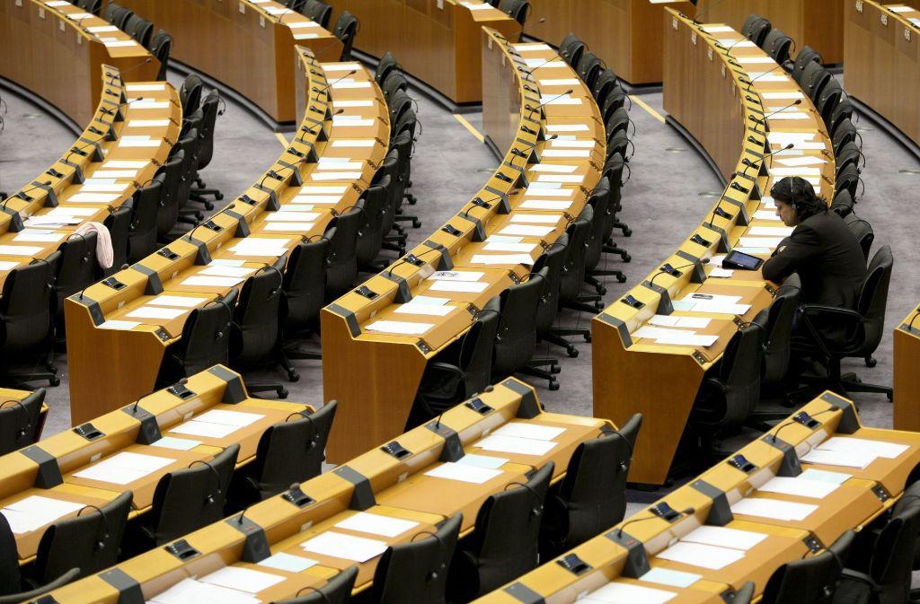 Der Eklat hat sich im EU-Parlament in Brüssel erreignet. (Archivfoto) Foto: dpa