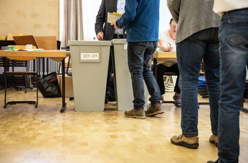 Deutlich höhere Wahlbeteiligung in Stuttgart absehbar