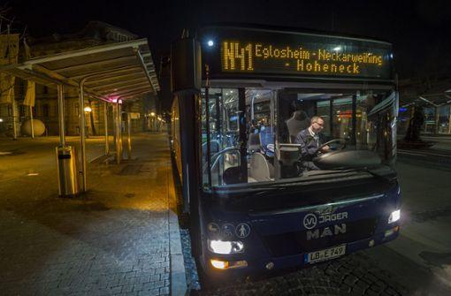 Netz für Nachtbusse wird ausgeweitet