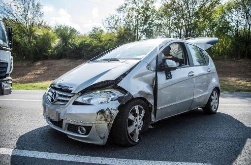 Drei Verletzte bei Unfall mit mehreren Autos