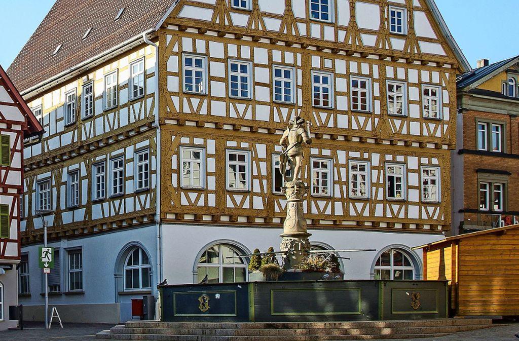 Für das Alte Rathaus gibt es Pläne. Foto: /Stadt