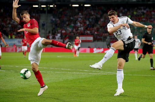 DFB-Team verliert Testspiel in Österreich