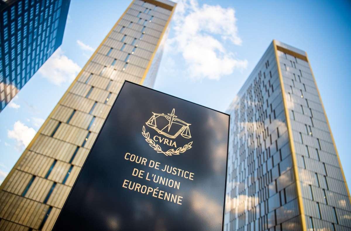 Der Europäische Gerichtshof in Luxemburg am Donnerstag ein Urteil gegen die Asylregeln Ungarns festgestellt. Foto: dpa/Arne Immanuel Bänsch