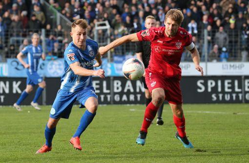 """Warum sich die Stuttgarter Kickers gegen die """"Kleinen"""" schwer tun"""