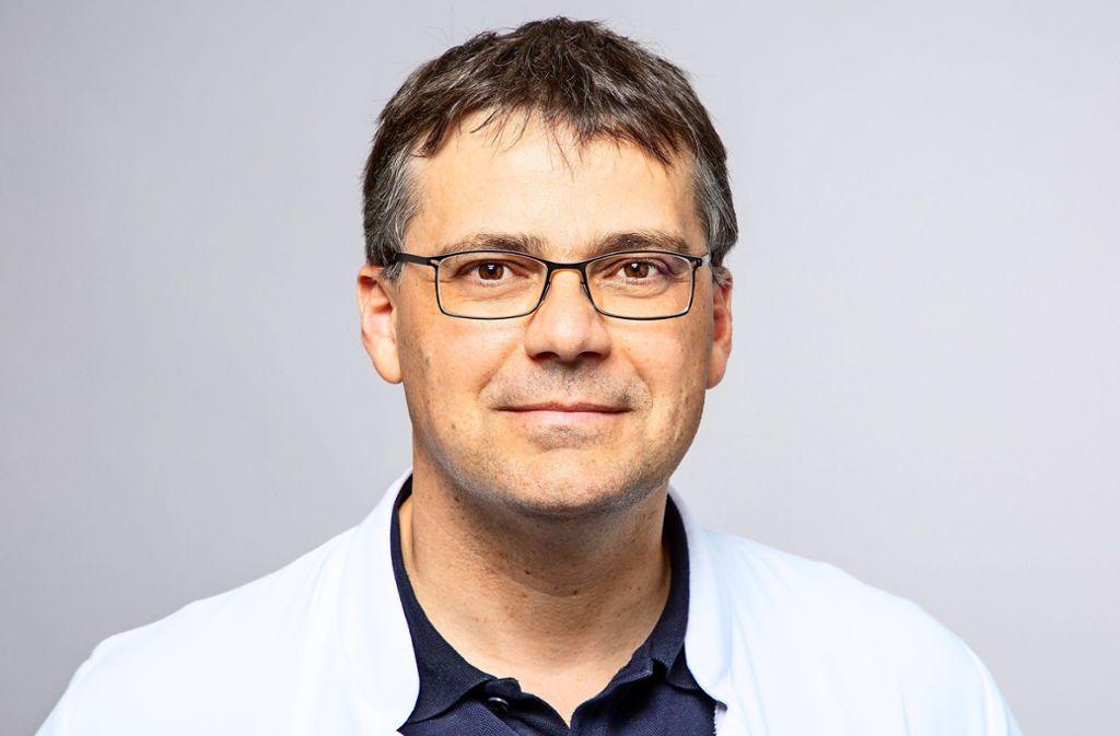 Professor Henning Wege tritt seine neue Stelle im Oktober an. Foto: Klinikum Esslingen/Eva Hecht
