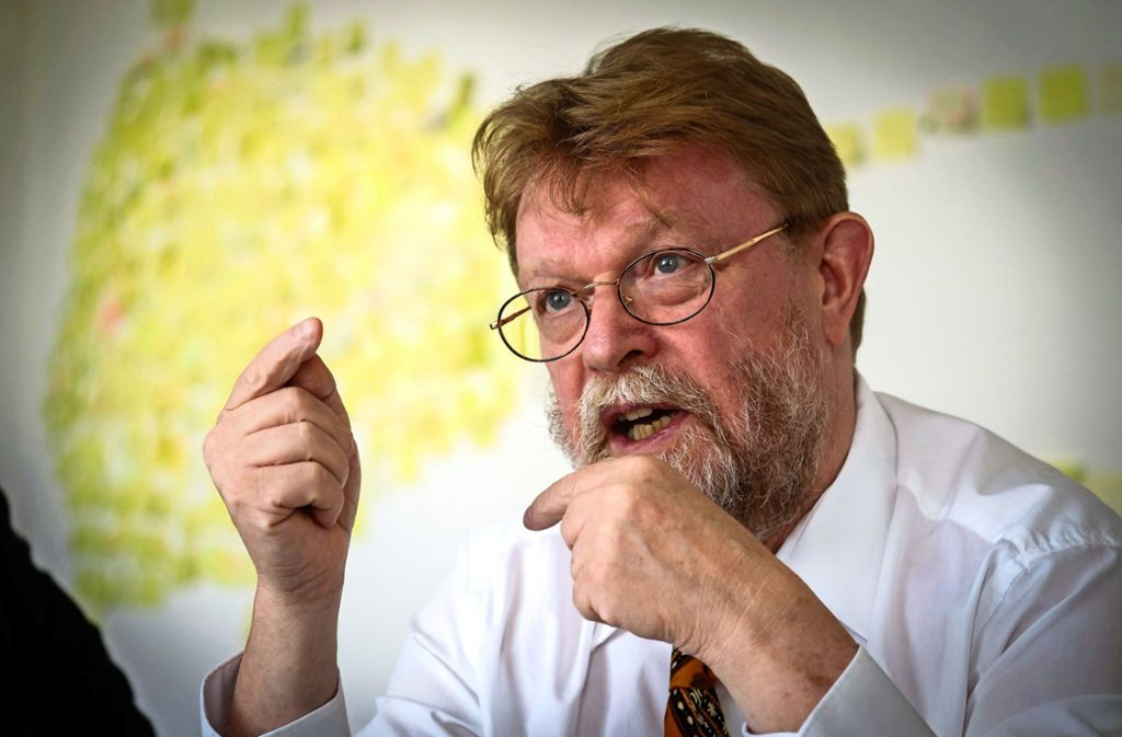 Der Ministerialdirektor Uwe Lahl will zu Gesprächen einladen. Foto: Lichtgut/