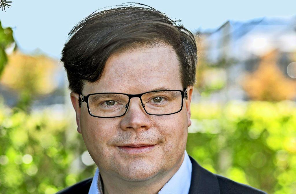 Eberhard Keller (SPD) hat das knappe Rennen um den Ebersbacher Chefposten für sich entscheiden können. Foto: privat
