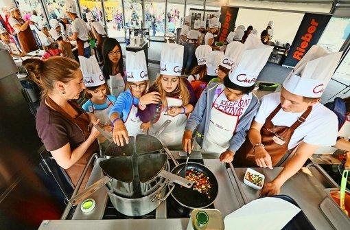 Gemeinsam kochen, essen und genießen