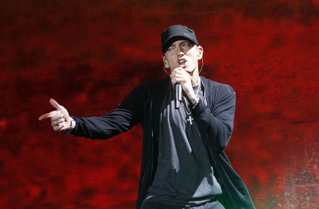 """Seit Freitag ist das neue Eminem-Album """"Revival"""" auf dem Markt. (Symbolbild) Foto: AP"""
