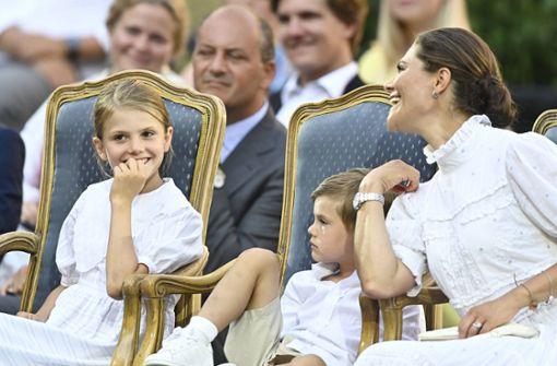 Ihre Familie feiert die Kronprinzessin