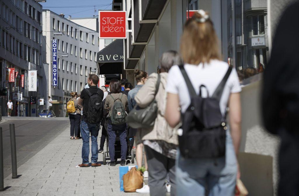 Die leichten Lockerungen zeigen sich auch in Stuttgart – aber wie viel Lockerung geht nocht? Foto: Lichtgut/Julian Rettig