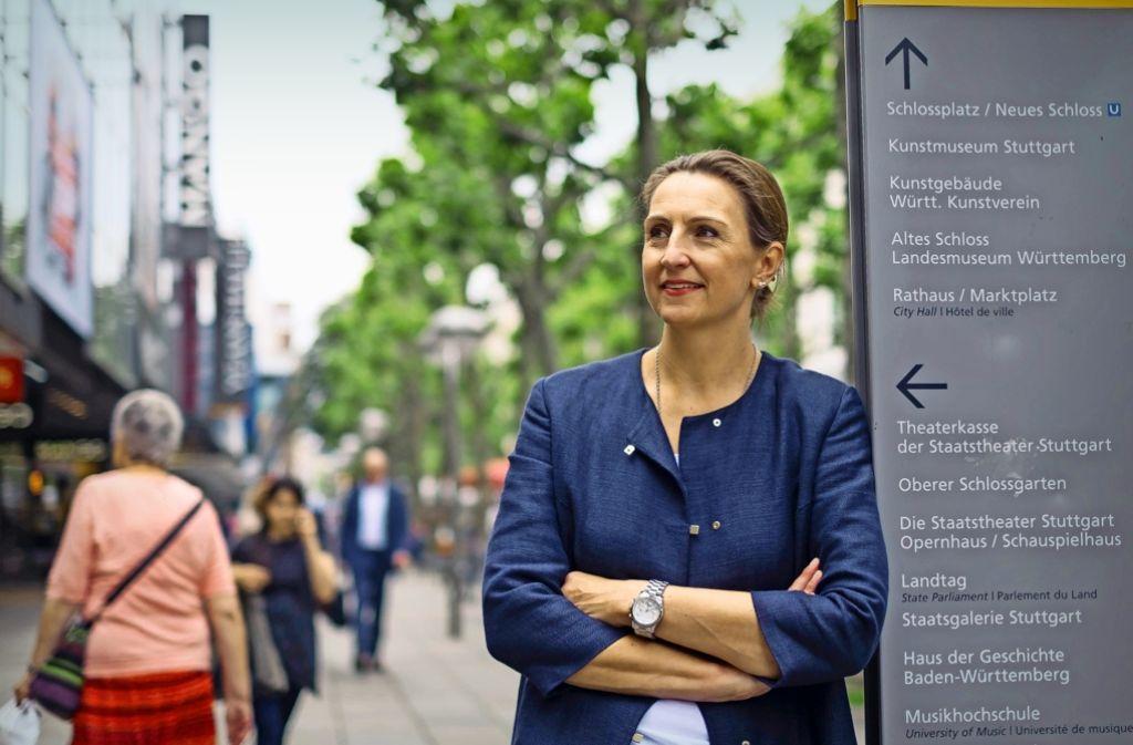 Mitmachen und ausprobieren! Das Festival ist ein Publikumsmagnet für Familien. City-Managerin  Bettina Fuchs freut sich über  die Plattform der Stuttgarter Vereine. Foto: Lg/Kovalenko