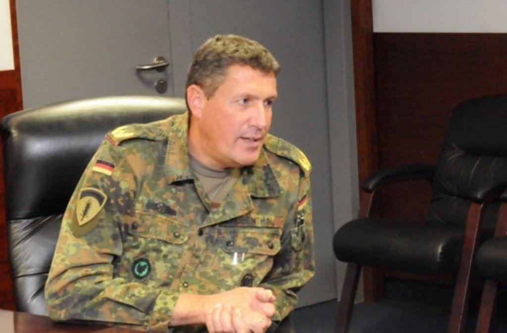 Ein deutscher General im Dienste der US-Army: Markus Laubenthal. Foto: US-Army