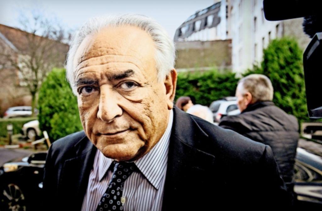 Dominique Strauss-Kahn hat sich vor Gericht immer selbstbewusst gezeigt. Foto: AFP