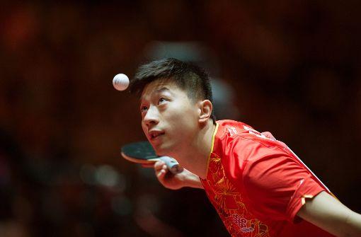 Tischtennis  in chinesischer Hand