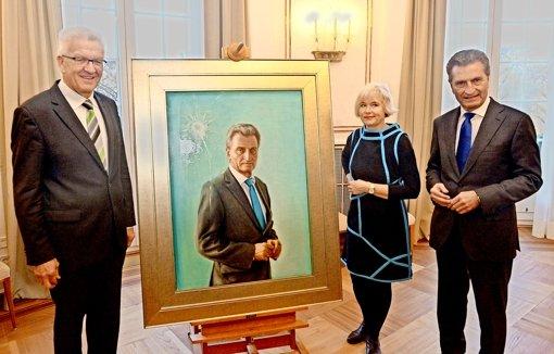 """Oettinger findet sein Porträt """"treffend"""""""