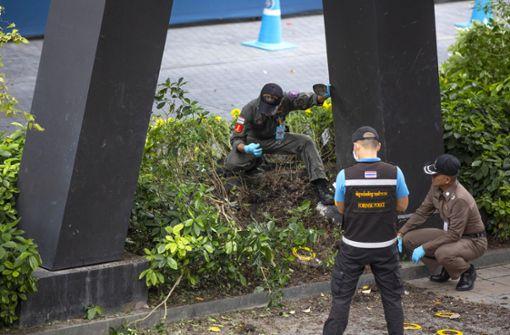 Zwei Verletzte bei mehreren Explosionen in Thailands Hauptstadt