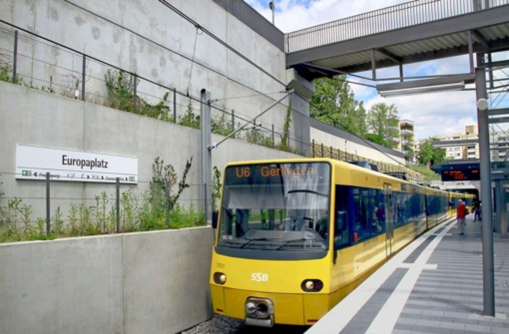 In vier Jahren soll die U6 vom Europaplatz im Stadtteil Fasanenhof in wenigen Minuten den Flughafen erreichen. Foto: FACTUM-WEISE