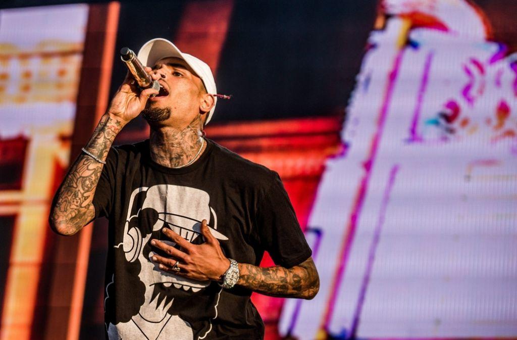 Nach einer Festnahme wurde Sänger Chris Brown gegen eine Kaution wieder freigelassen. Foto: MTI