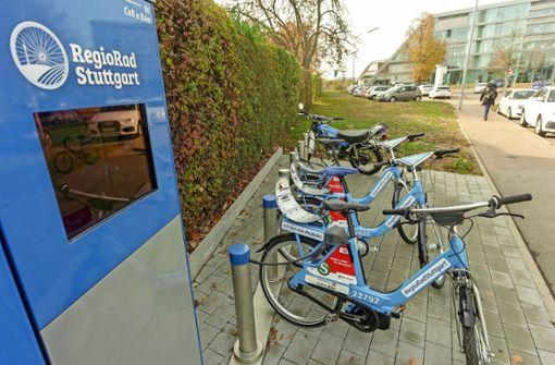 Das Regio-Rad ist  eher Stuttgart-Rad