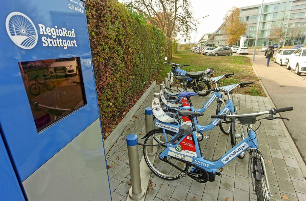 In Ludwigsburg gibt es bereits einige Stationen wie hier in der Grönerstraße. Nun sollen weitere  dazukommen. Foto: factum//Jürgen Bach