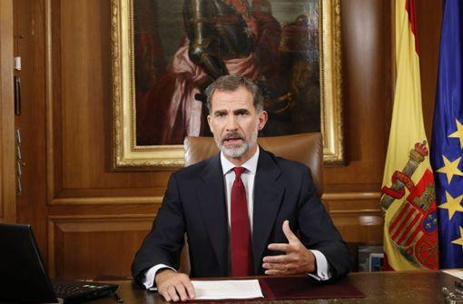 Spaniens König Felipe VI. verzichtet auf sein Erbe