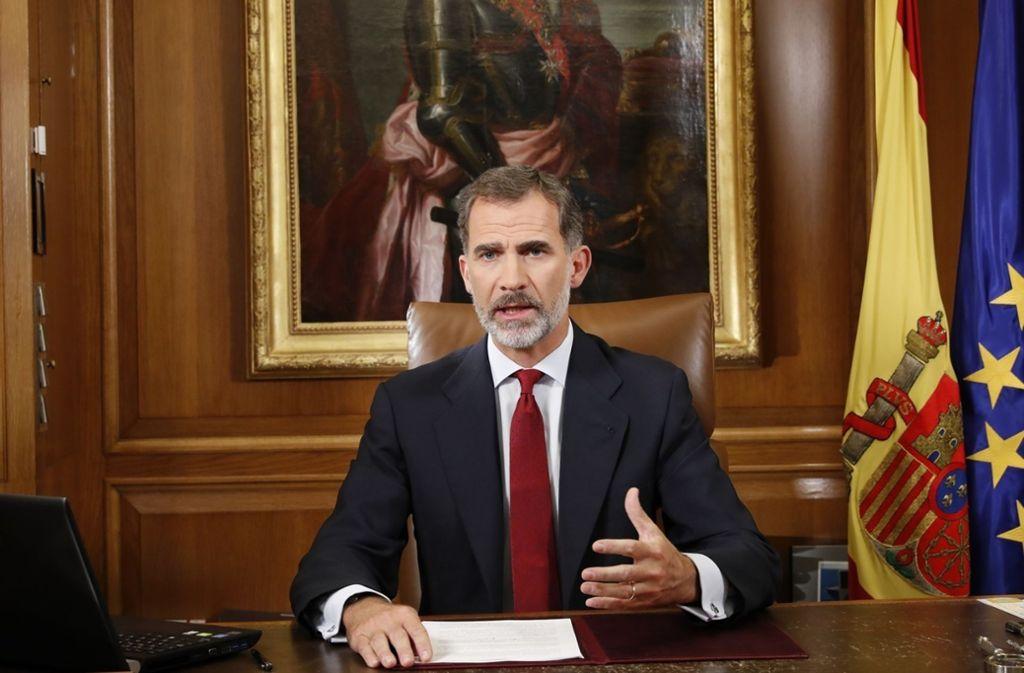 König Felipe VI. verzichtet auf sein Erbe. Foto: dpa