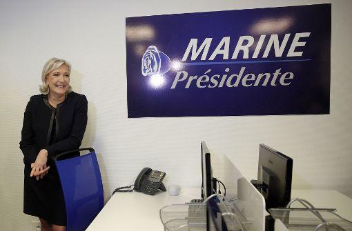 Le Pen auf der Suche nach den Millionen