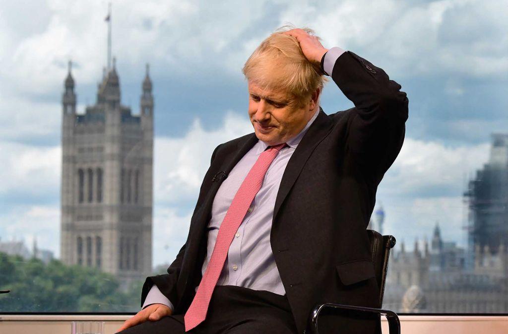 Boris Johnson ist der Favorit bei der Wahl des konservativen Parteichefs in London. Foto: AFP