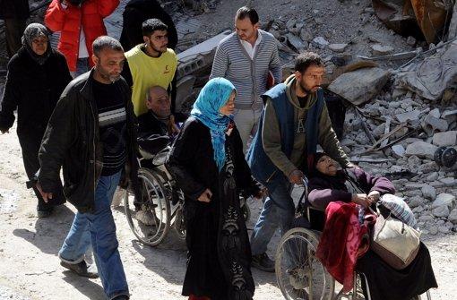 Zahl der Flüchtlinge erreicht Rekordhoch