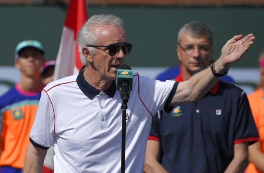 Raymond Moore ist nicht mehr Direktor des Tennisturniers von Indian Wells. Foto: AP