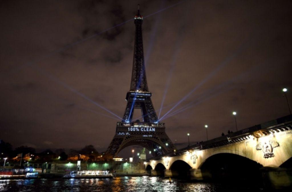Einigen Staaten kommt es bei der Konferenz in Paris nicht nur auf das Klimaabkommen an. Foto: AFP