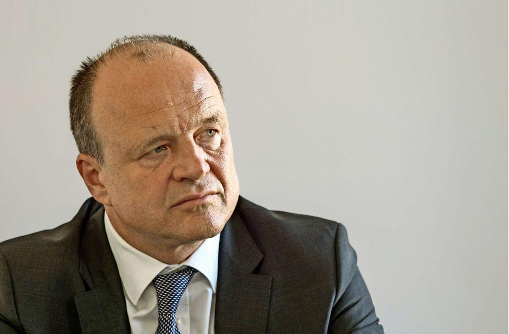 Werner Spec will sich durchsetzen. Foto: factum/Archiv
