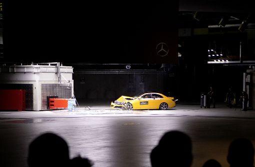 Bei Mercedes in Sindelfingen kracht es gewaltig