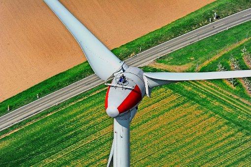 Die vergangenen Windjahre waren eher schlecht. Das hat Einfluss auch auf die Rendite des  Windrades in Ingersheim. Foto: Werner Kuhnle