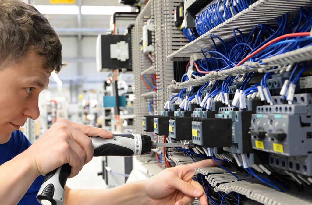 Eine gute Lage und ausgeprägter Wettbewerb führen dazu, dass Elektrohandwerksbetriebe neue Mitarbeiter brauchen. Foto: red
