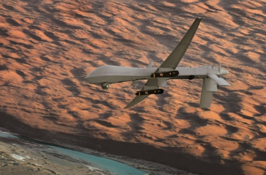 Bisher werden bewaffnete Drohnen  von der Nato gekauft und nicht selbst entwickelt. Foto: DOD/U.S. Air Force