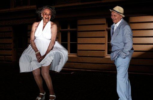 Mit 84 so neckisch wie Marilyn Monroe
