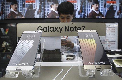Samsung ändert Produktion des Galaxy Note 7