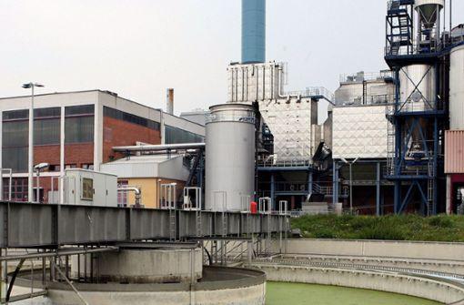 Klärschlamm-Anlage im Angebot