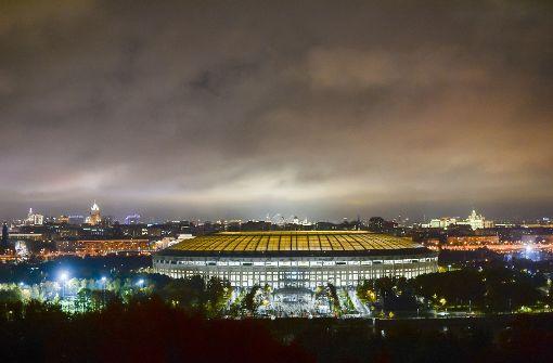 Chaos bei Eröffnung des WM-Stadions Luschniki in Moskau