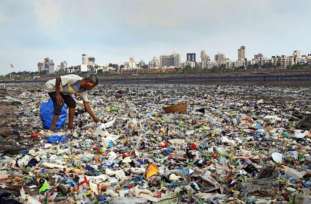 Die Küste bei Mumbai in Indien Foto: dpa