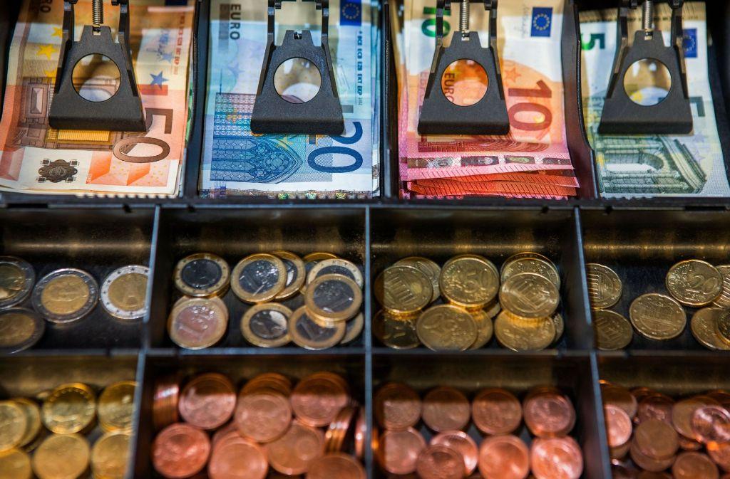 Die Staatskassen so voll  wie noch nie Foto: dpa
