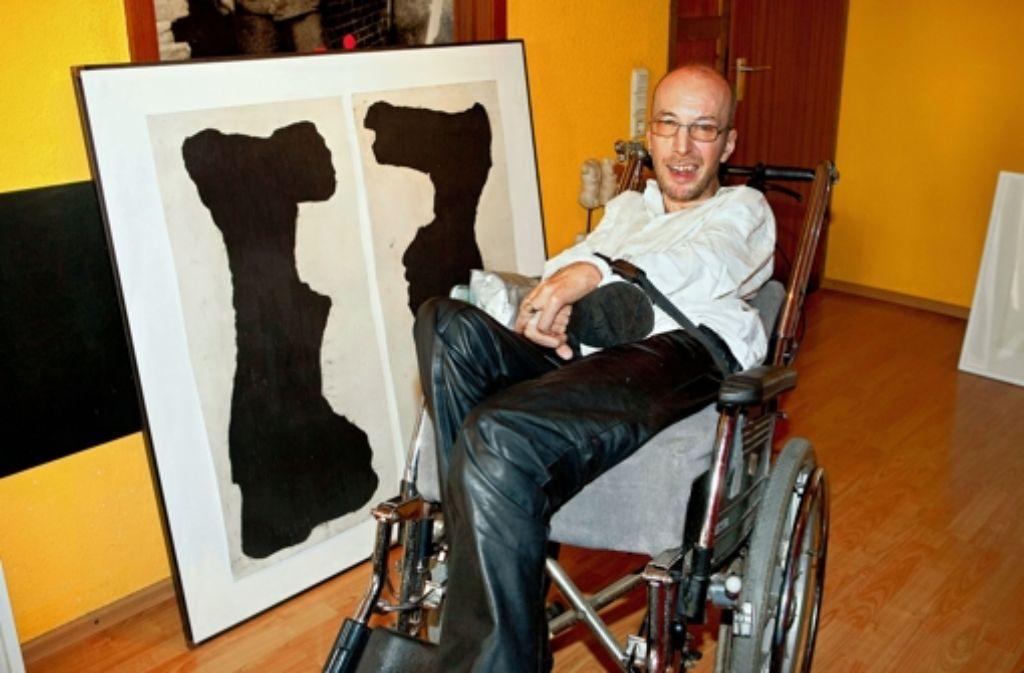 Künstler Stuttgart künstler mit behinderung der zungenmaler aus stuttgart stuttgart