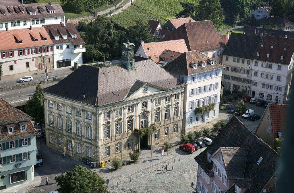 Im linken Flügel des Neuen Rathauses residiert der Kulturbürgermeister. Foto: Pressefoto Horst Rudel