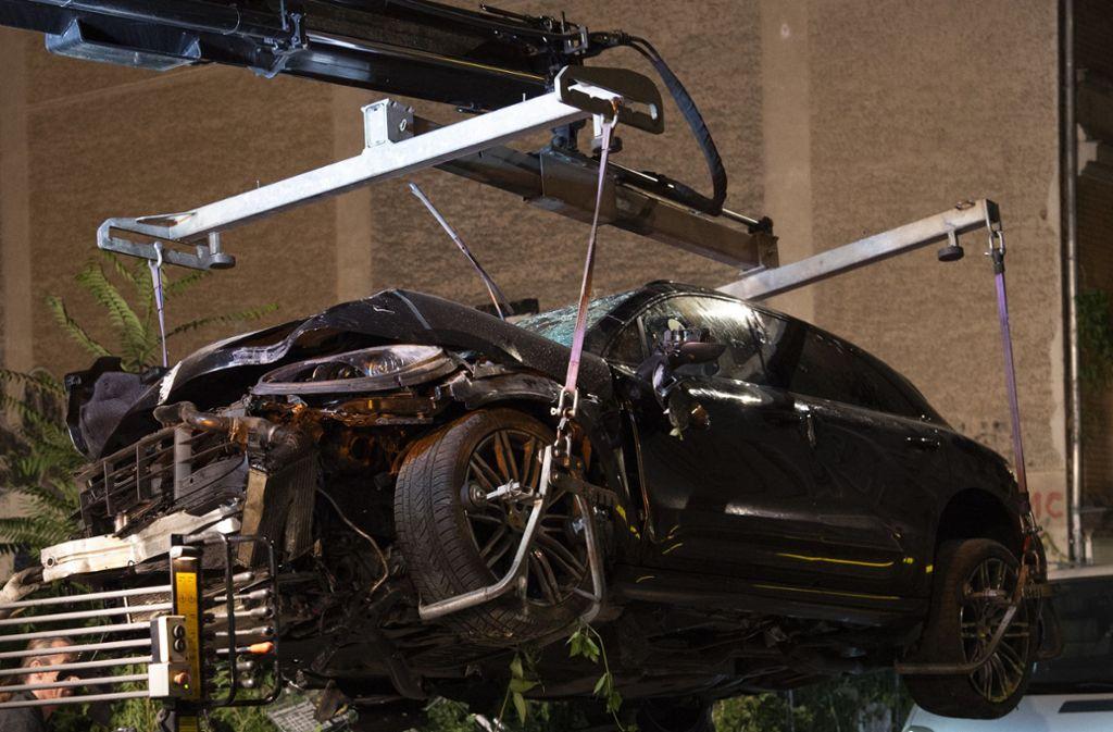 Der Wagen war im September in eine Fußgängergruppe gerast. Foto: dpa/Paul Zinken