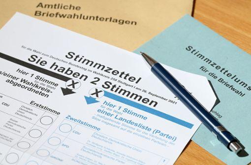 Knapp 173000 Stuttgarter setzen auf Briefwahl