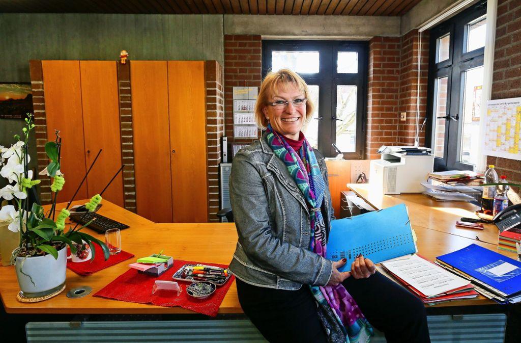 Susanne Widmaier  geht als Bürgermeisterin     einer rührigen Stadt die Arbeit nicht aus. Foto: factum/ Granville